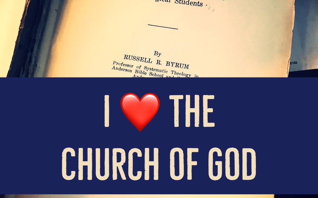 I Love the Church of God
