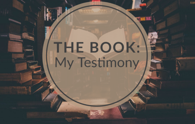 The Book: My Testimony