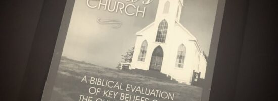 'A Closer Look at God's Church: A Biblical Evaluation of Key Beliefs of the Church of God' by Mark Jackson